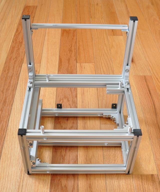 open frame test bench
