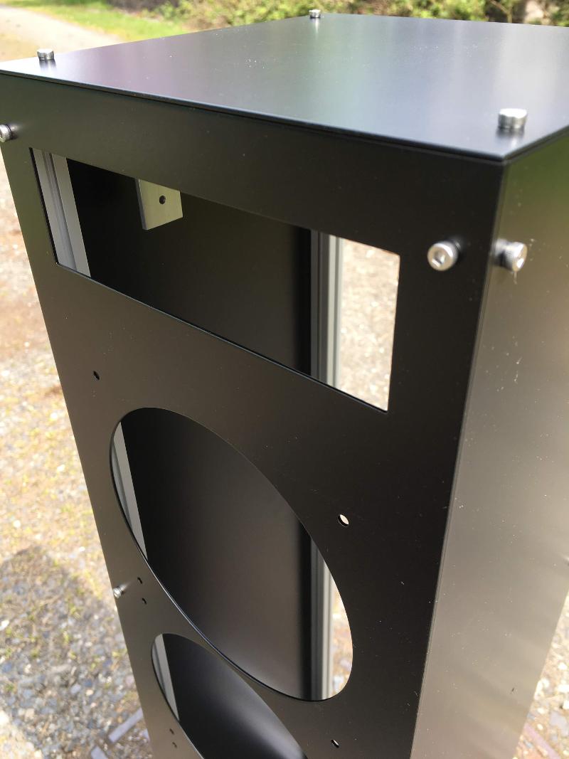 Custom radiator box