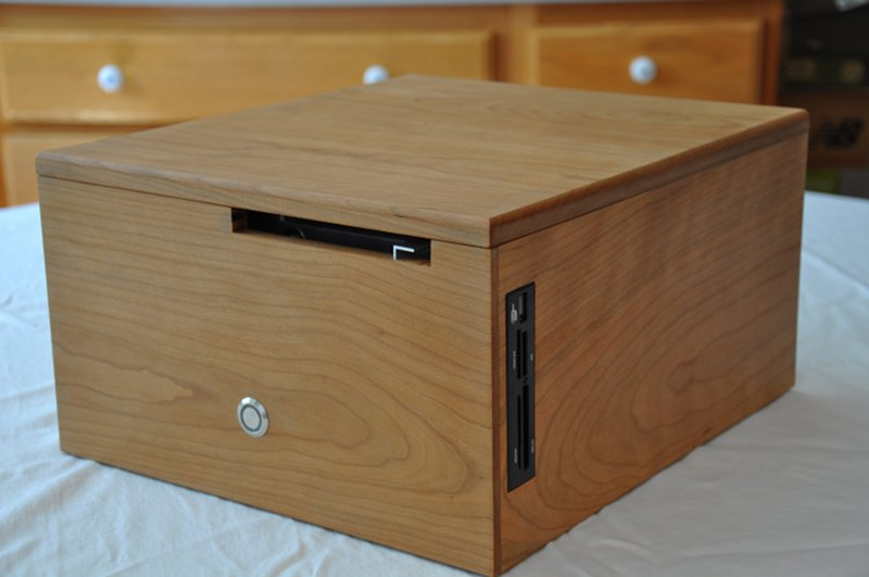 Custom cherry mini-ITX case