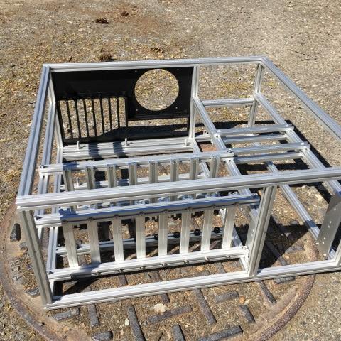 HTPC case frame