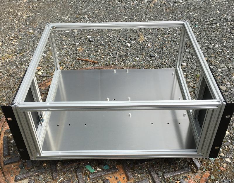 Server case frame