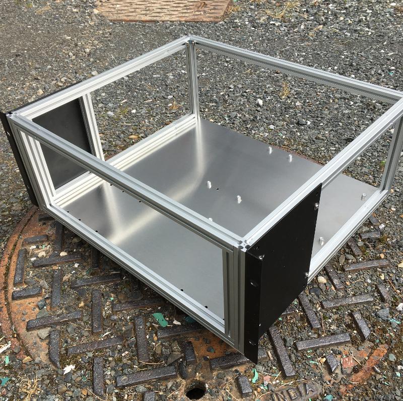 Custom server case frame