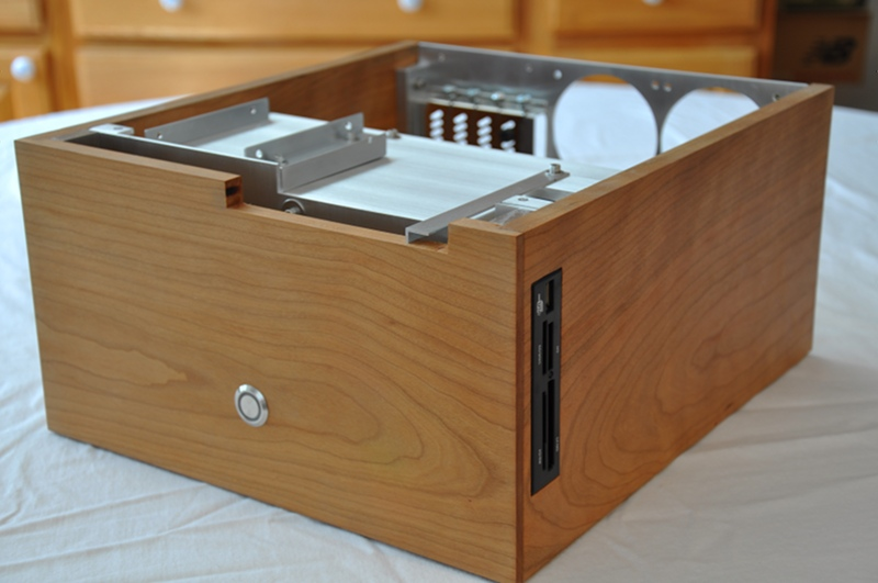 Wooden PC case